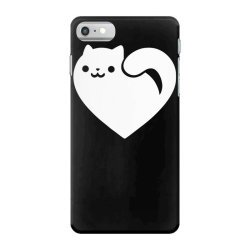 cats heart funny iPhone 7 Case | Artistshot