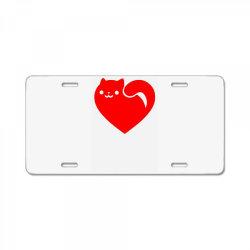 cats heart License Plate | Artistshot