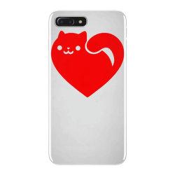 cats heart iPhone 7 Plus Case | Artistshot