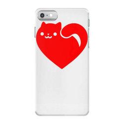 cats heart iPhone 7 Case | Artistshot