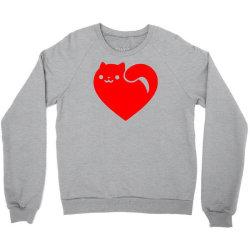 cats heart Crewneck Sweatshirt | Artistshot