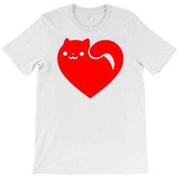 cats heart T-Shirt | Artistshot