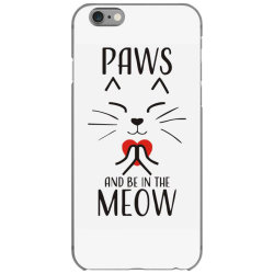 cats meditation mindfulness funny animal iPhone 6/6s Case | Artistshot