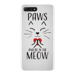 cats meditation mindfulness funny animal iPhone 7 Plus Case | Artistshot
