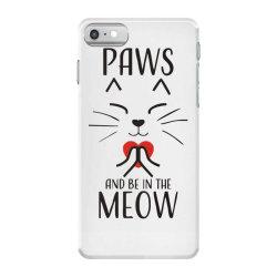 cats meditation mindfulness funny animal iPhone 7 Case | Artistshot