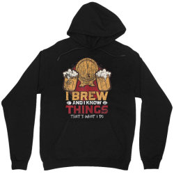 i brew and i know things Unisex Hoodie | Artistshot