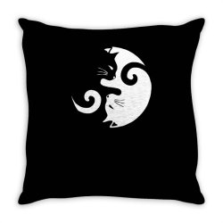 cats rule Throw Pillow   Artistshot