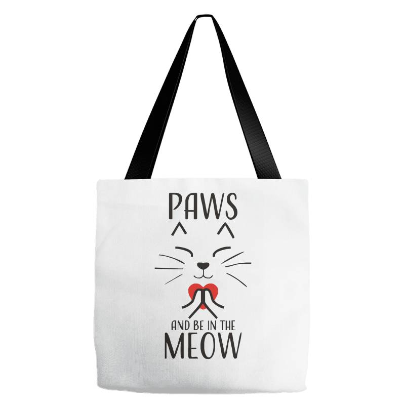 Cats Meditation Mindfulness Funny Animal Tote Bags | Artistshot