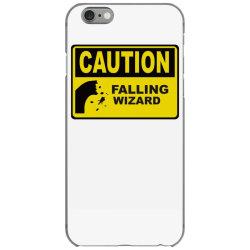 caution falling wizards iPhone 6/6s Case | Artistshot