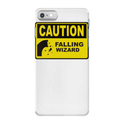 caution falling wizards iPhone 7 Case | Artistshot