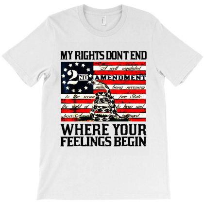 2nd Amendment Usa Flag T-shirt Designed By Mirazjason