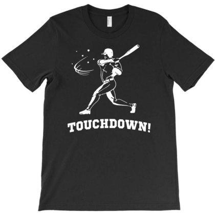 Touchdown   Funny Sports T-shirt Designed By L4l4pow