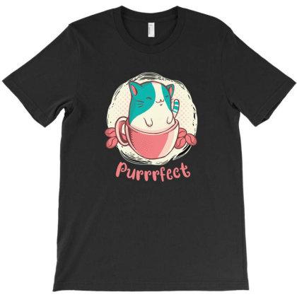 Cute Cat T-shirt Designed By Frenliys