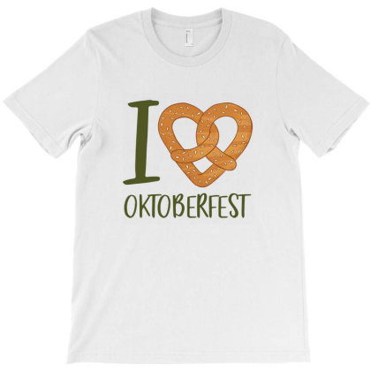 I Love Oktoberst T-shirt Designed By Frenliys