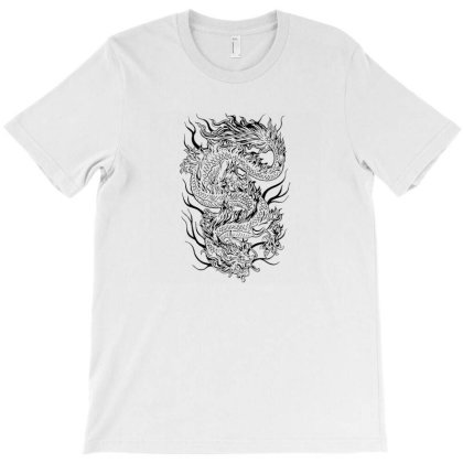 Mythical Dragon T-shirt Designed By Frenliys