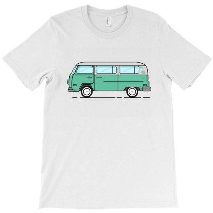 Cartoon Drawing, Cartoon Bus T-shirt Designed By Şen