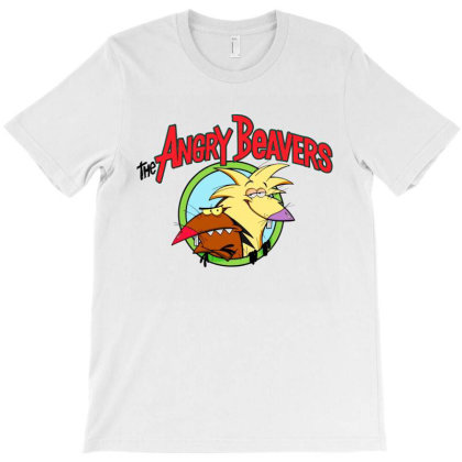Angry Beavers T-shirt Designed By Shooopy