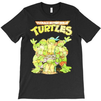 Retro Teen.age  Nin.ja Turt.les Essential T Shirt T-shirt Designed By Hi313