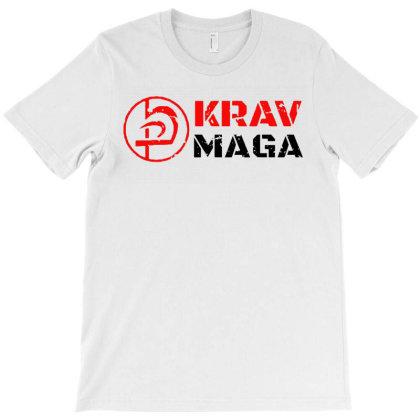 Krav Maga Logo Mma Krav Maga Fighting T-shirt Designed By Mostwanted