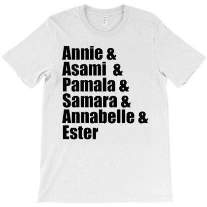 Lady Slashers T-shirt Designed By Mostwanted