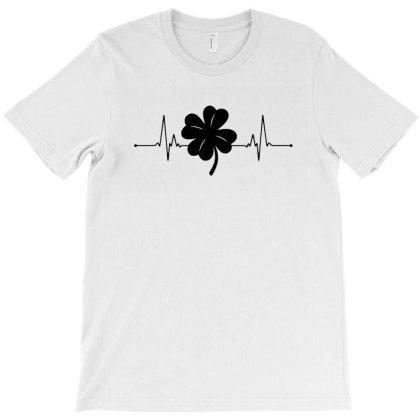 Shamrock Clover Ireland T-shirt Designed By Mostwanted