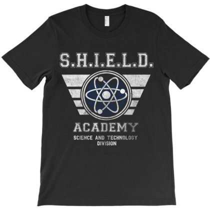 Shield  Ac.ade.my  Essential   T Shirt T-shirt Designed By Wened313