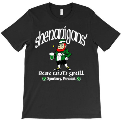 Shenanigans Bar T-shirt Designed By Mostwanted