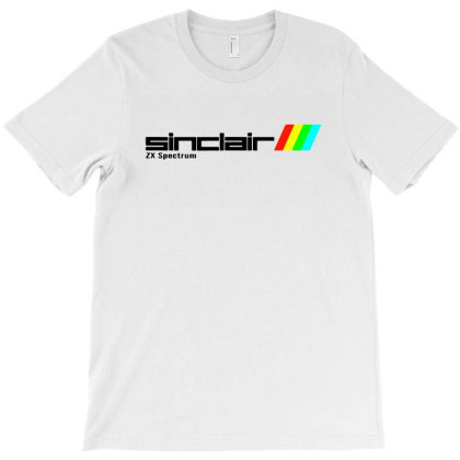 Sinclair Zx Spectrum Retro Ordenadores Vintage T-shirt Designed By Mostwanted