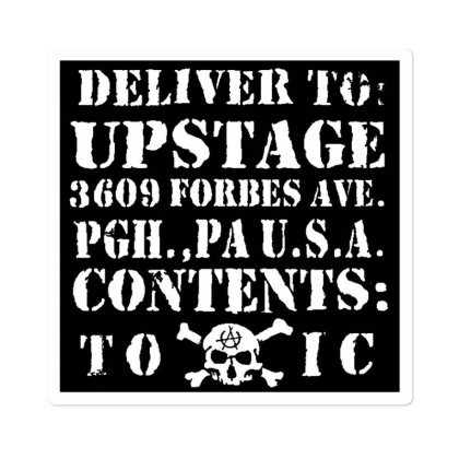 The Upstage Sticker Designed By Mostwanted
