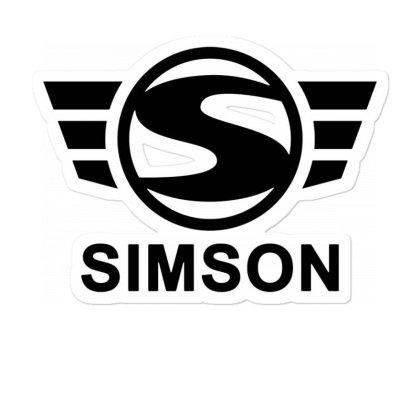 Simson Schwalbe Vespa Sticker Designed By Robertosupeno
