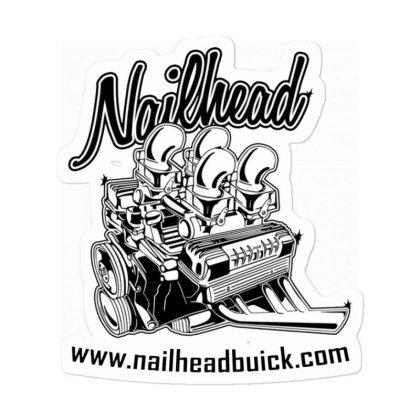 Nailhead Buick Custom Sticker Designed By Robertosupeno
