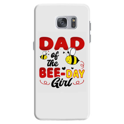 Dad Of The Bee Day Girl Hive Party Matching Samsung Galaxy S7 Case Designed By Suettan