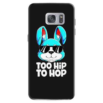 Too Hip To Hop Easter Bunny Boys Samsung Galaxy S7 Case Designed By Mostwanted