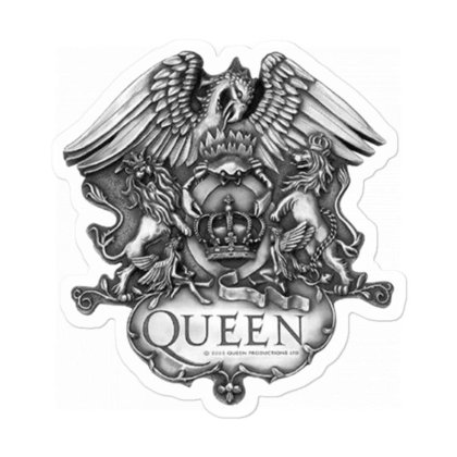 King Of Queen Sticker Designed By Robertosupeno