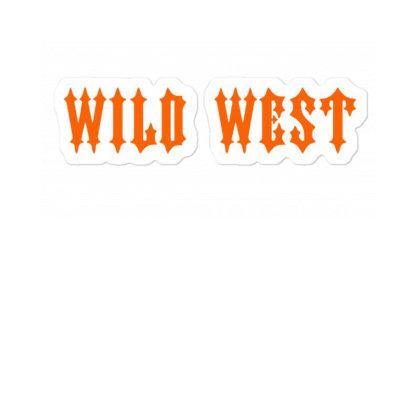 Trapstar Wild West Sticker Designed By Mostwanted