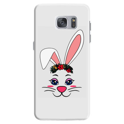 Easter Bunny Rabbit Ear Samsung Galaxy S7 Case Designed By Suettan