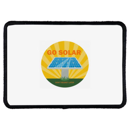 Custom Dc Solar Panel Cell Rectangle Patch Designed By Robertosupeno