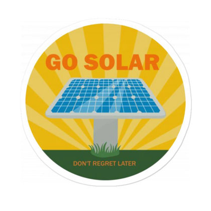 Custom Dc Solar Panel Cell Sticker Designed By Robertosupeno