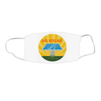 Custom Dc Solar Panel Cell Face Mask Rectangle Designed By Robertosupeno