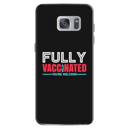 Vaccinated Tshirt For Men Women Samsung Galaxy S7 Case Designed By Mostwanted