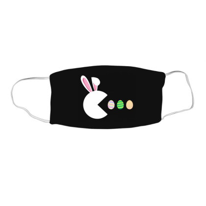 Video Game Bunny Eggs Easter Gamer Face Mask Rectangle Designed By Mostwanted