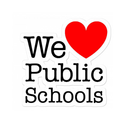 Love Public Education Sticker Designed By Robertosupeno