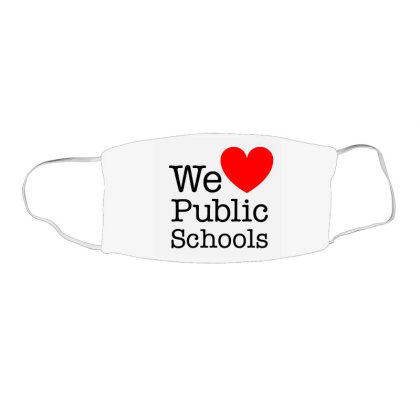 Love Public Education Face Mask Rectangle Designed By Robertosupeno