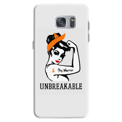 Womens Ms Warrior Unbreakable Samsung Galaxy S7 Case Designed By Mirazjason
