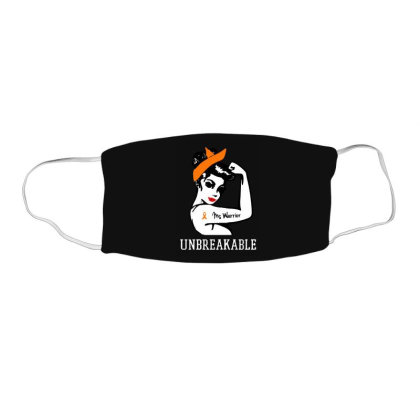 Womens Ms Warrior Unbreakable Face Mask Rectangle Designed By Mirazjason