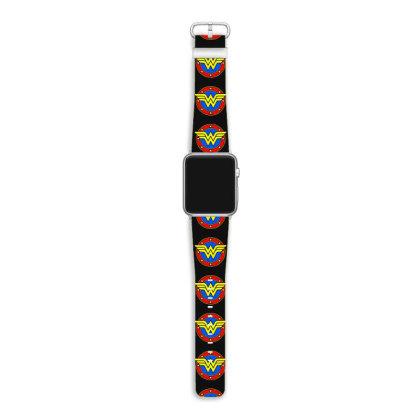 Superhero Vintage Emblem Apple Watch Band Designed By Mirazjason