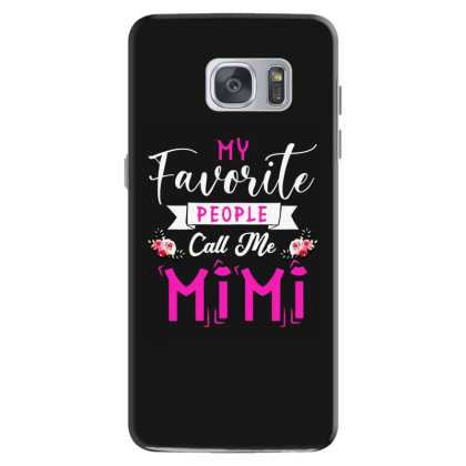 Womens My Favorite People Call Me Mimi Mother's Day Samsung Galaxy S7 Case Designed By Mirazjason