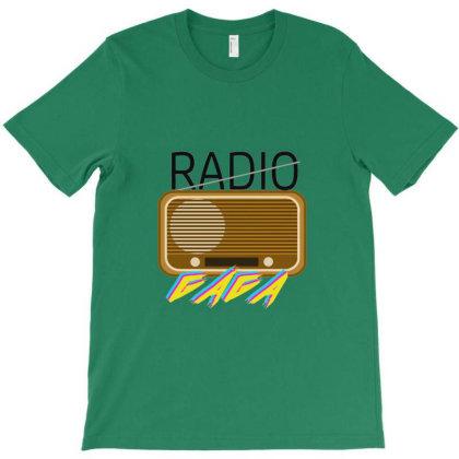 Radio Gaga T-shirt Designed By Rifky Andhara
