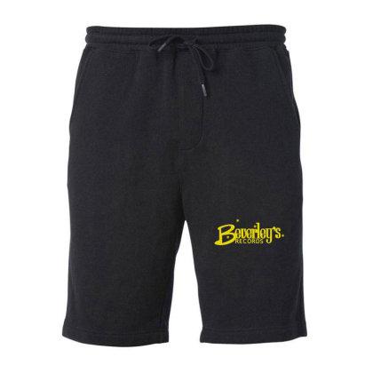 Beverley Records Fleece Short Designed By Wanzinx
