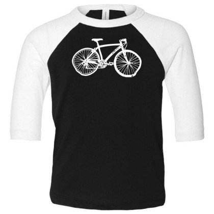 Bicycle Toddler 3/4 Sleeve Tee Designed By Wanzinx